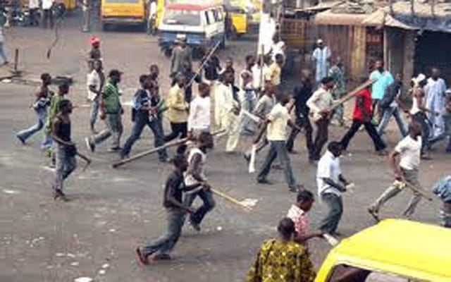 Butchers and cultists clash in Lagos