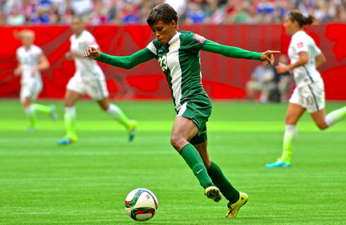 The Americans brought 50,000 of their closest friends to help defeat Nigeria 1-0 at the 2015 FIFA Women's World Cup.