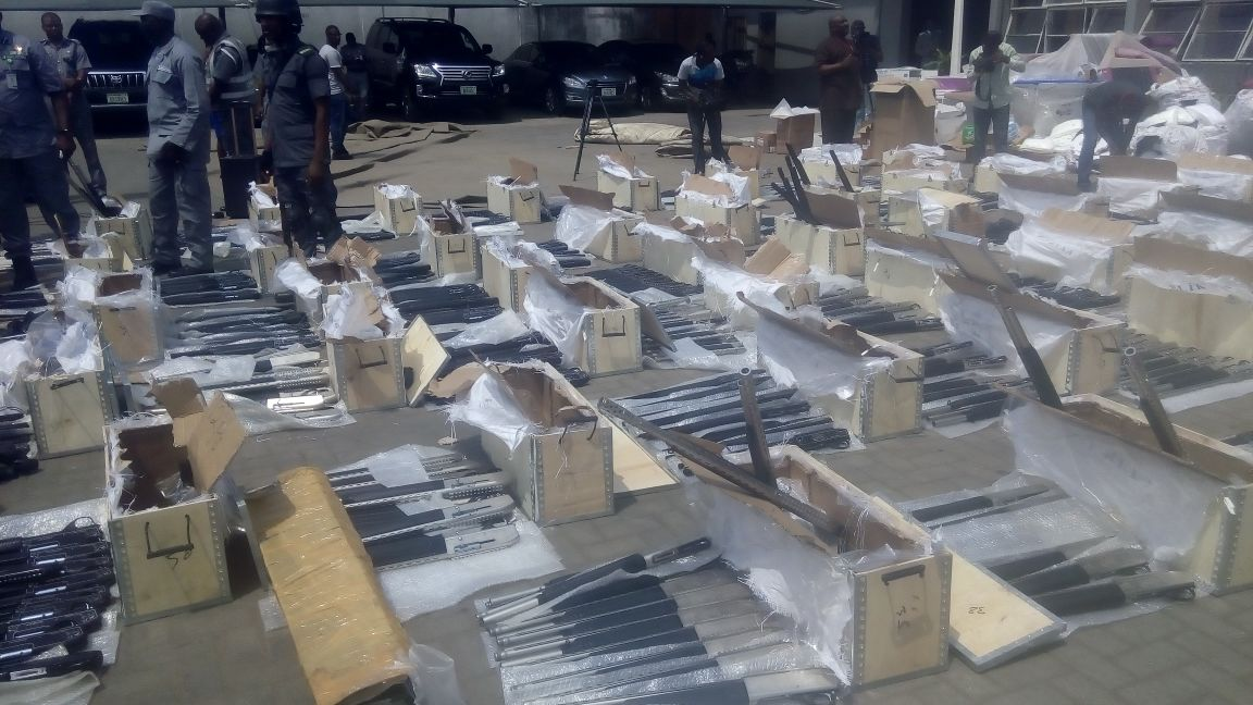 Customs intercepts 661 pump action rifles
