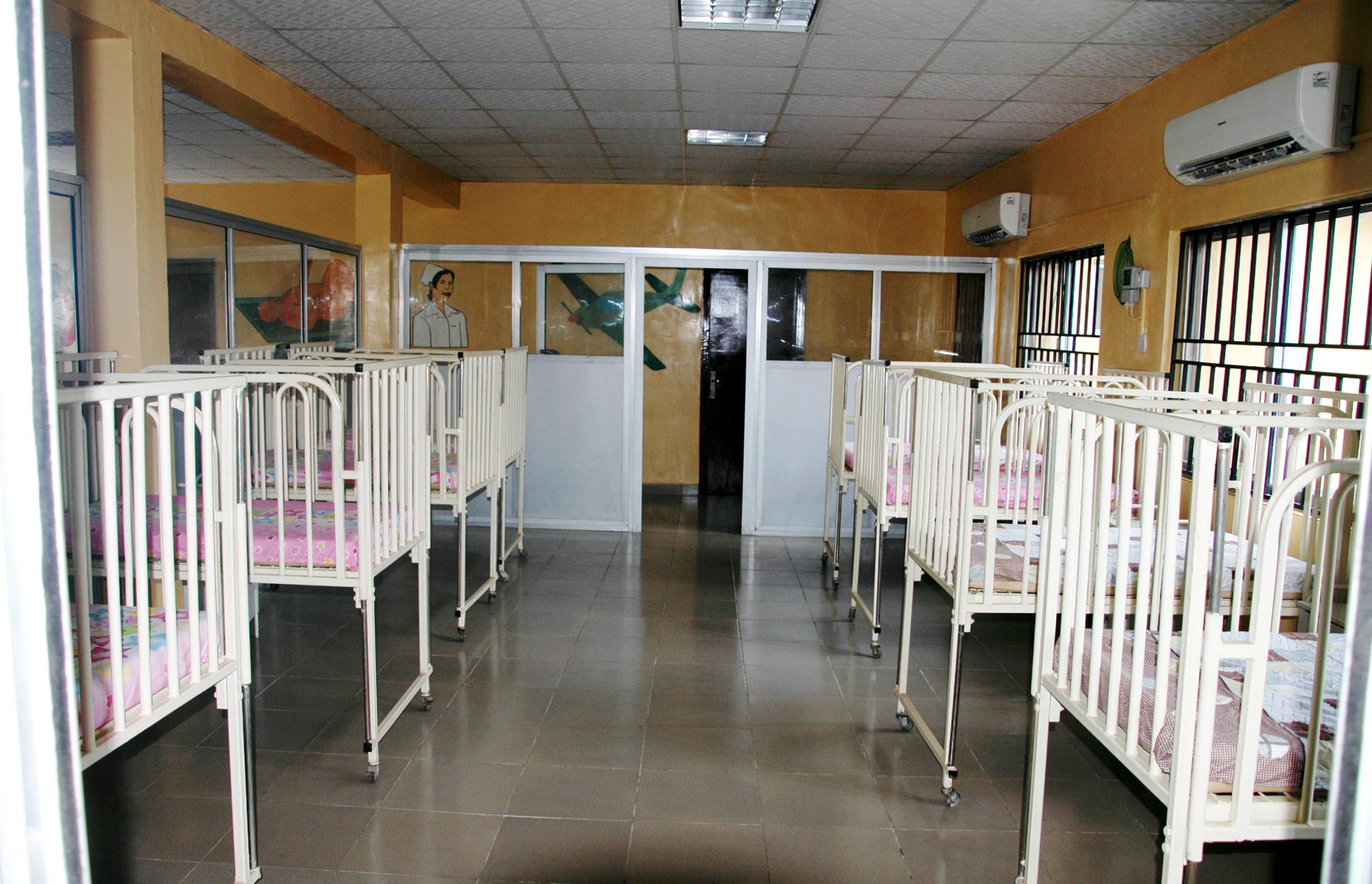 PIC. 16. THE PAEDIATRIC WARD INAUGURATED AT THE GENERAL HOSPITAL, AGBALA IN IKORODU, LAGOS STATE ON THURSDAY (17/9/15). 6684/17/9/2015/BOA/BJO/NAN