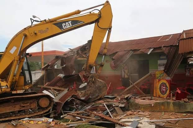 Abia govt demolishes kidnapping hideouts TVC