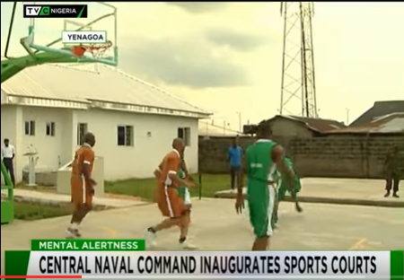 Basketball Court Naval TVC