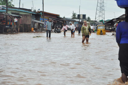 Ibafo flooding TVC