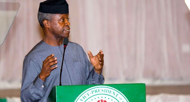 Nigeria's Acting President, Professor Yemi Osinbajo