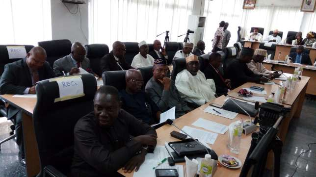 The-newly-appointed-Resident-Electoral-Commissioners-at-the-swearing-in-ceremony-TVC