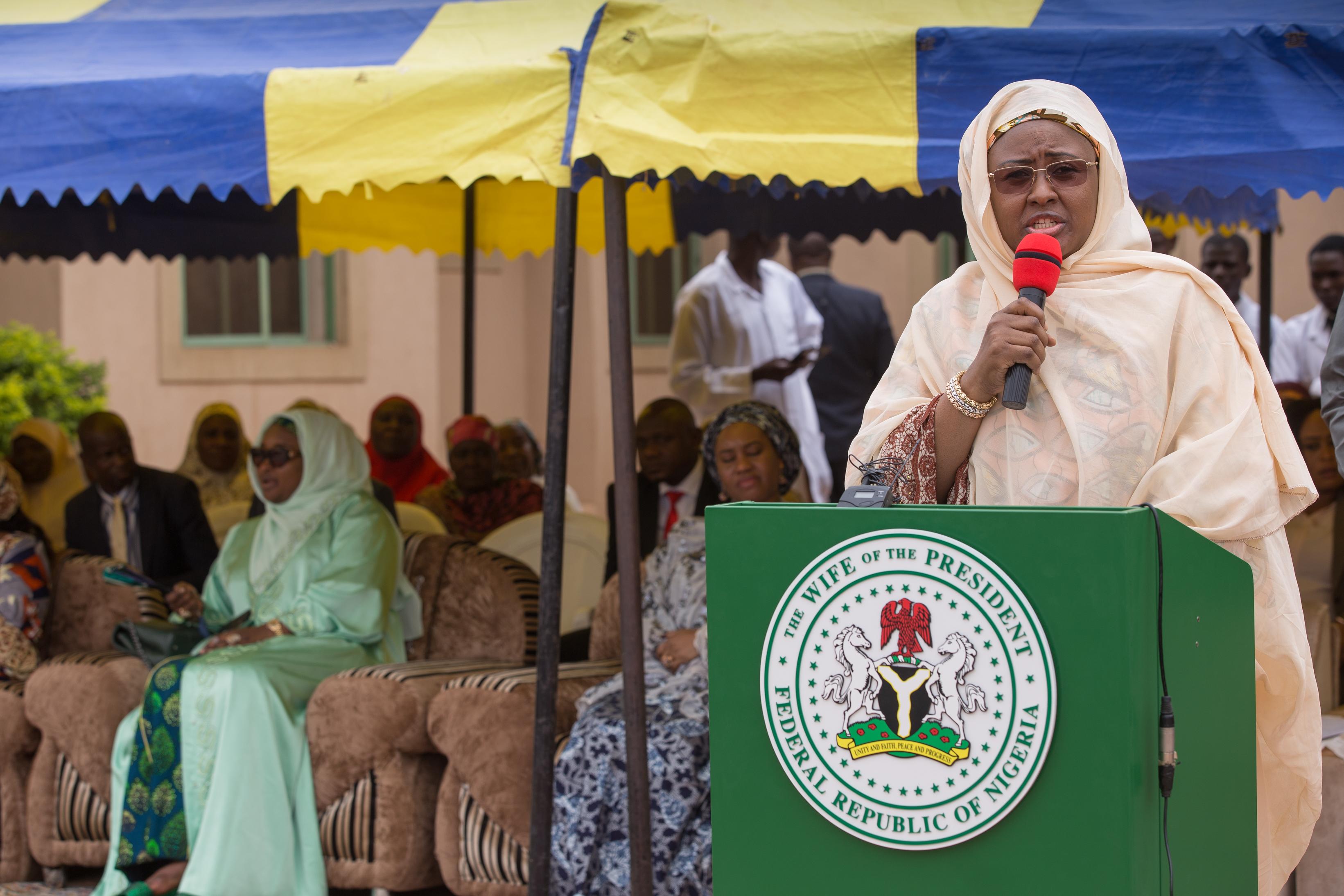 Aisha Buhari -TVC