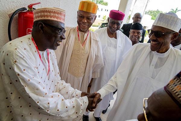 Buhari-Meets-APC-PDP-Leaders-36-States-Governors