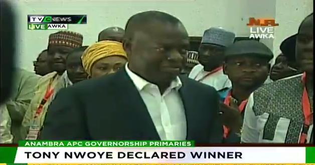 Tony Nwoye wins APC