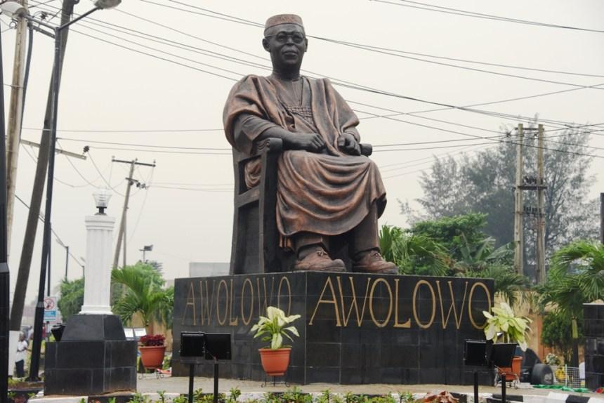 Awolowo statue -TVC
