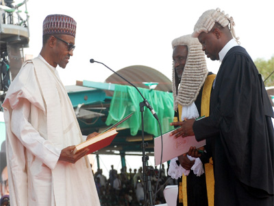 Buhari-taking-oath-of-office-TVC
