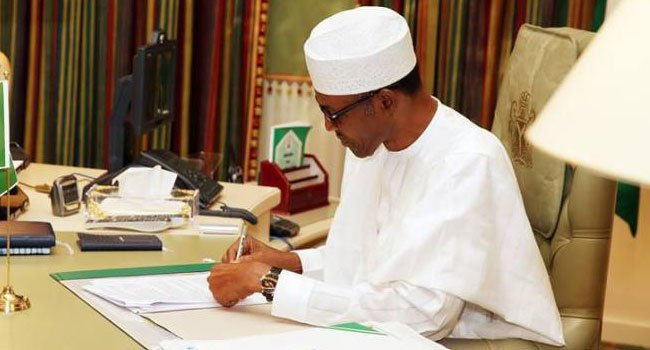 Buhari-writing - TVC