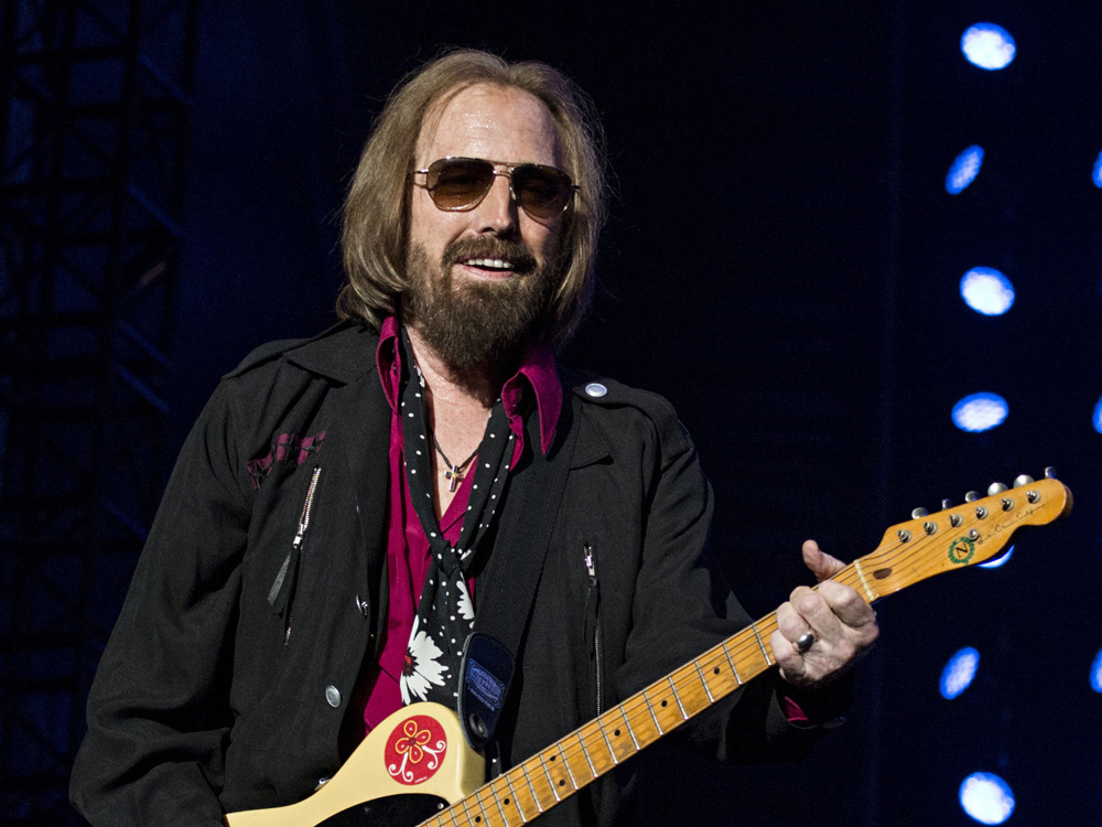 Tom Petty of Tom Petty and the Heartbreakers seen at KAABOO 2017 at the Del Mar Racetrack and Fairgrounds on Sunday, Sept. 17, 2017, in San Diego, Calif. (Photo by Amy Harris/Invision/AP) ORG XMIT: CARP107