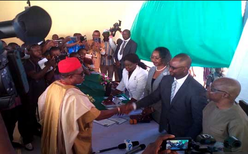 Obiano receives certificate of return, promises more work