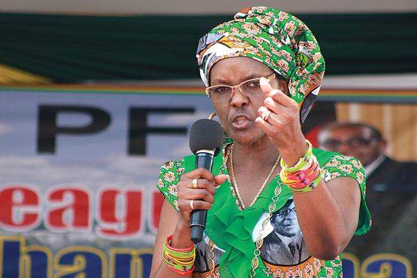 Grace Mugabe- TVC