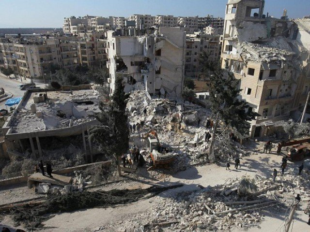 Air strikes killed 19 people in a village in Syria's rebel stronghold of Idlib overnight, a rescue service there and the Syrian Observatory for Human Rights said on Wednesday
