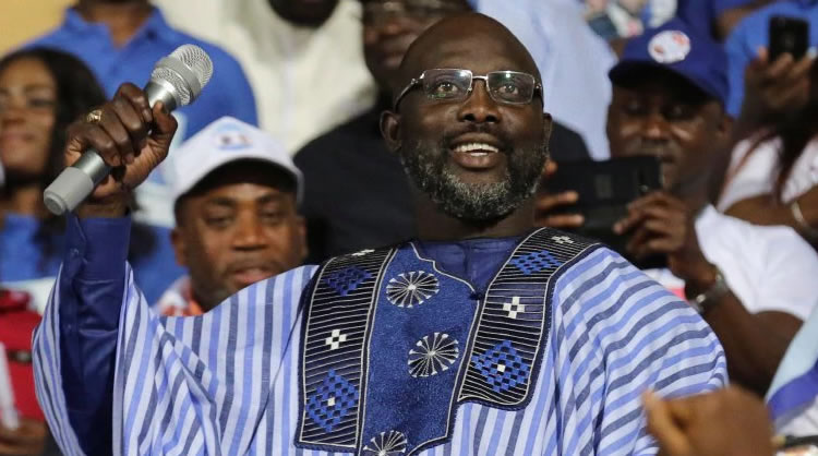 Liberia to swear in new leader ex-soccer star George Weah