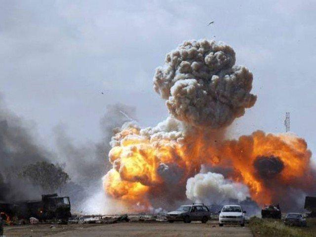 Myanmar-Blast