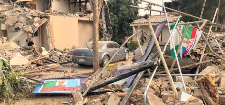 State-govt-demolishes-APC-factional-secretariat-TVCNews