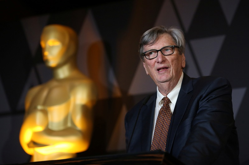 FILE PHOTO - Motion Picture Academy President John Bailey speaks at the Foreign Language Film nominees cocktail reception in Beverly Hills, California, U.S., March 2, 2018. REUTERS/David McNew