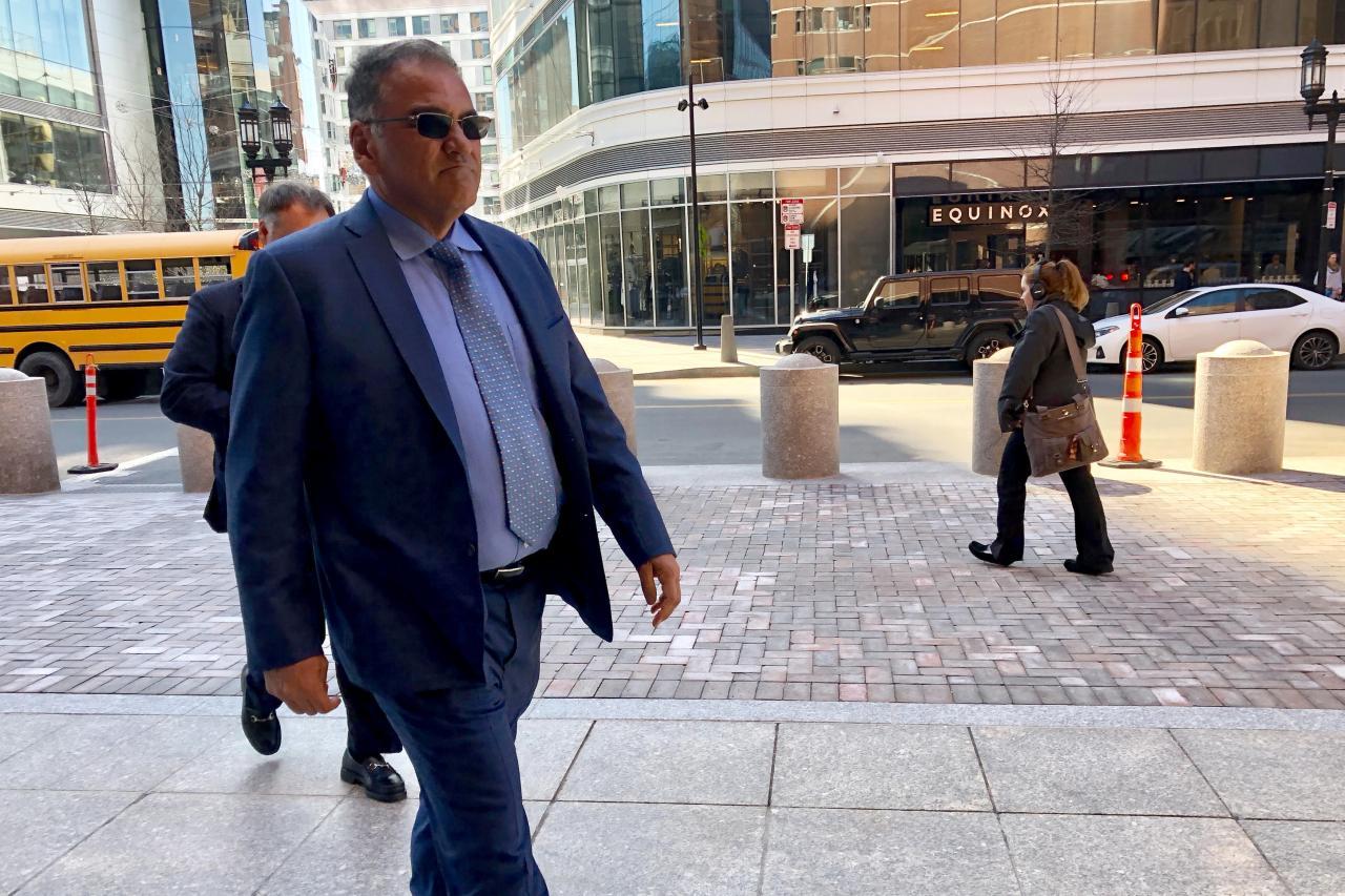 Dr. Eduardo Montana of Atlanta, Georgia enters the federal courthouse in Boston, Massachusetts, U.S.,  February 28, 2018.  REUTERS/Nate Raymond