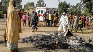 Seven killed, 7 injured as four female bombers attack two Borno communities