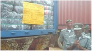 Customs impounds 498 cartons of Codeine cough syrup