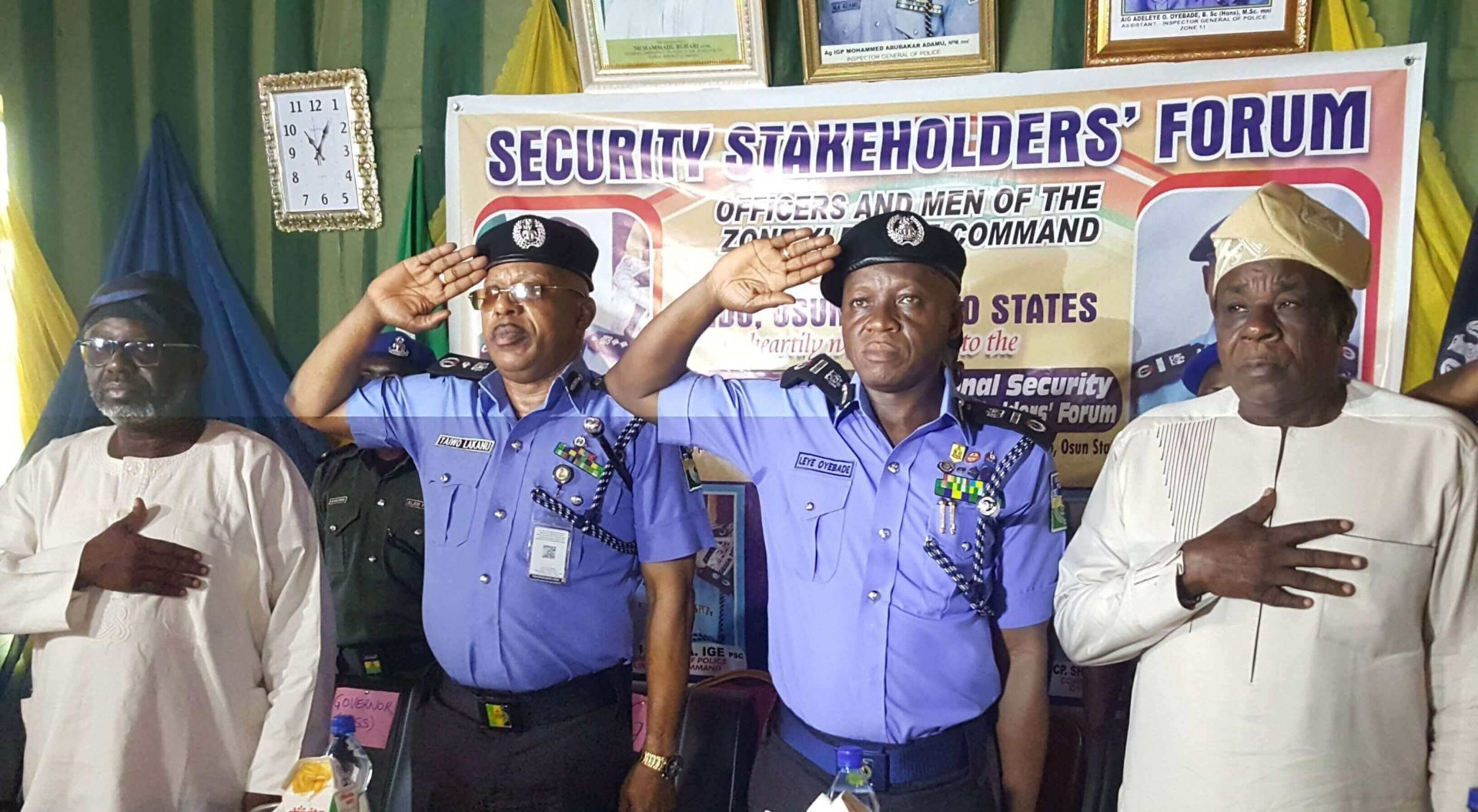 IGP maps out strategy for improved Police /citizens relationship in Osun