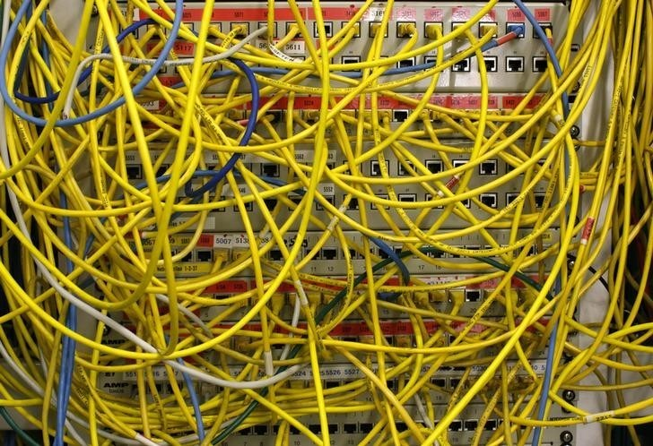 Ethernet cables used for internet connections