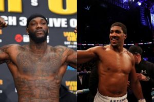 Why I want to fight Anthony Joshua – Wilder