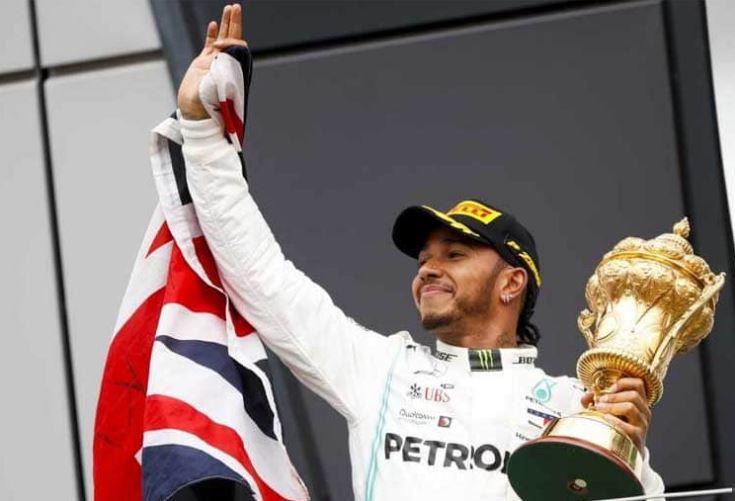 Hamilton wins British GP for a record sixth time