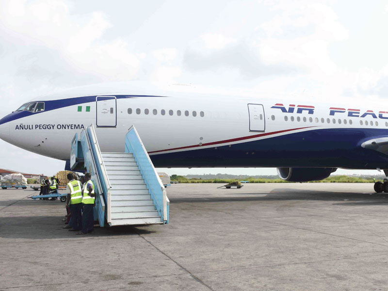 Air Peace isolates passenger suspected of having the corona virus - TVC News
