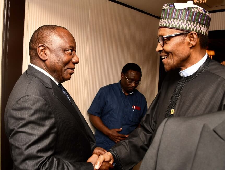 Again, Ramaphosa apologises to Nigeria over Xenophobic attacks