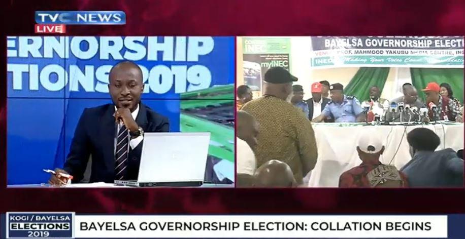 #KOBA2019: Collation of Bayelsa Gov Election results begins in Yenagoa