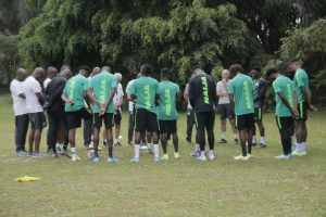 Super Eagles holds first training session ahead Benin clash