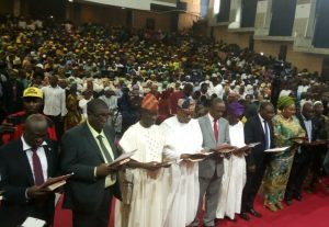 Abiodun swears-in 19 Commissioners, 15 Special Advisers