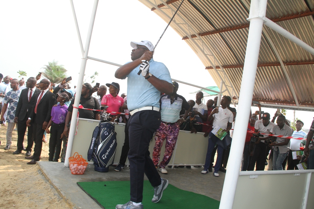 Bayelsa Golf Course: Life president, top players witness inauguration in Yenagoa