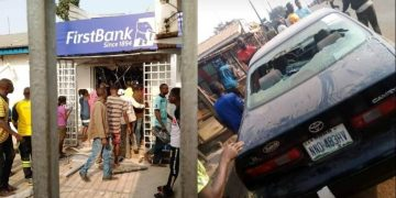 AIG zone 11 visits scenes of Ondo bank robbery