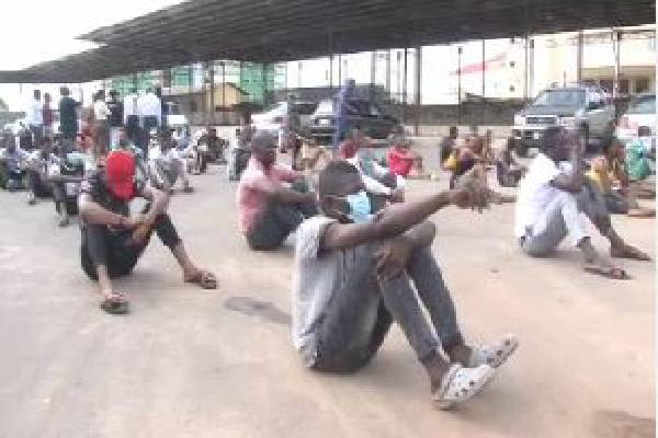 Lockdown: Over 30 persons arrested in Ekiti for flouting order ...