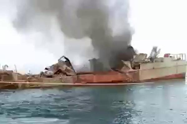 19 Sailors dead as Iran Navy missile hits own ship during training