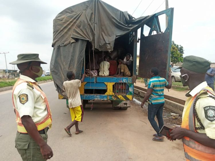 TRACE intercepts truck conveying 30 Almajirai in Ogun