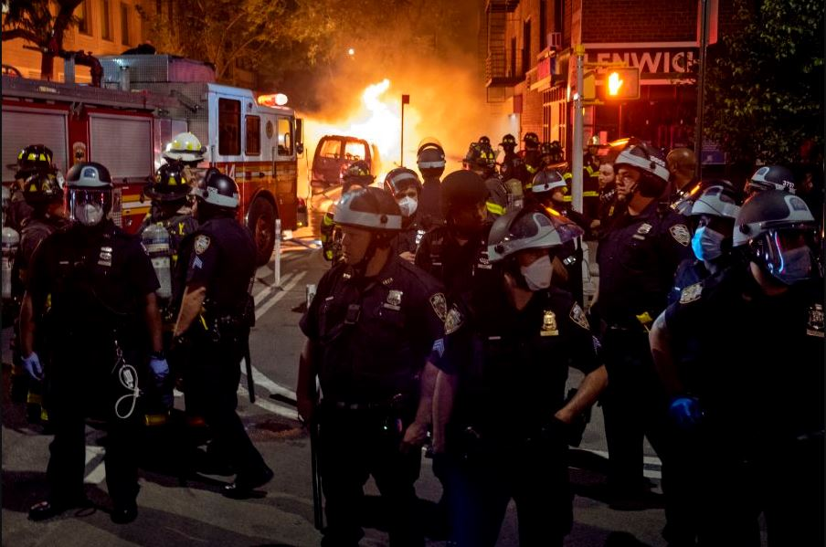 Curfew imposed in major U.S. cities as protests escalate