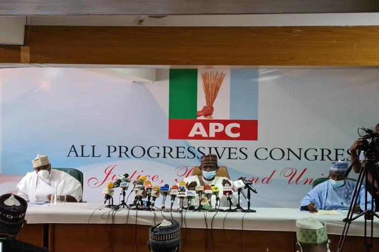 APC Caretaker Committee holds inaugural meeting - TVC News Nigeria