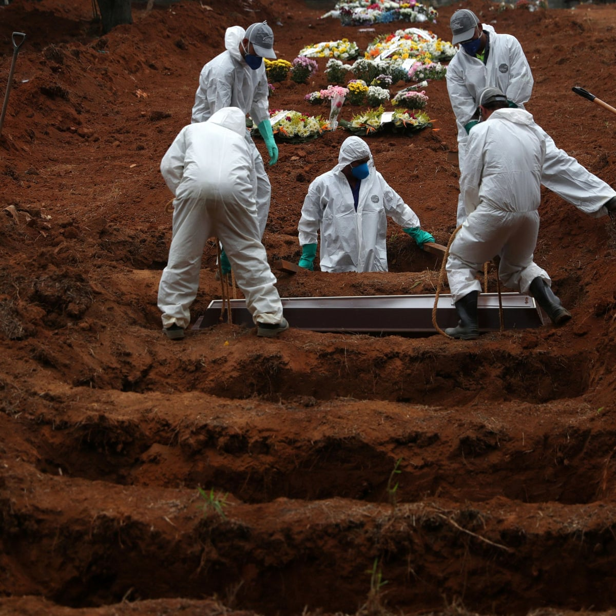 Brazil registers 42,720 coronavirus deaths