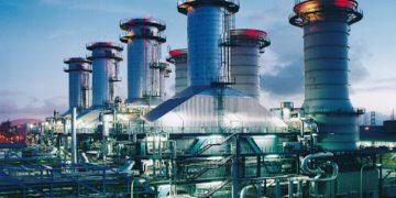 Das Mehrwellen Gas-und Dampfturbinen(GuD)-Kraftwerk vom Typ SCC5-2000E in Paka, Malaysia. Hier kommen zwei Gasturbinen des Typs SGT5-2000E zum Einsatz.  The photo shows the multi-shaft combined cycle power plant (CCPP) of type SCC5-2000E in Paka, Malaysia. The plant is equipped with two SGT5-2000E gas turbines.