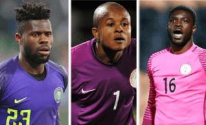 Goalkeeping: Uzoho, Akpeyi need keen competition – Dosu