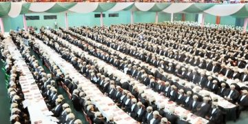PIC. 20. CROSS SECTION OF NEW WIG-LAWYERS AT THEIR CALL TO THE BAR IN ABUJA IN ABUJA ON   TUESDAY (20/11/12).