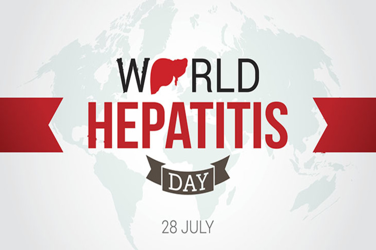 World Hepatitis Day Design Vector. Suitable for Greeting Card, Poster and Banner