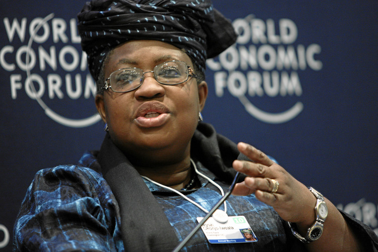 DAVOS/SWITZERLAND, 30JAN10 - Ngozi Okonjo-Iweala, Managing Director, World Bank, Washington DC; Global Agenda Council on Corruption, is captured during the session 'Zero Option for Corruption' in the Congress Centre of the Annual Meeting 2010 of the World Economic Forum in Davos, Switzerland, January 30, 2010.  Copyright by World Economic Forum swiss-image.ch/Photo by Remy Steinegger
