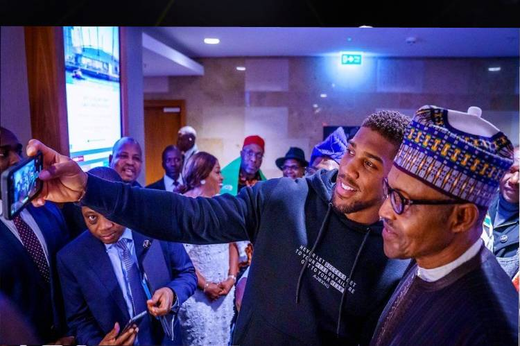 Buhari hails Joshua for victory over Pulev
