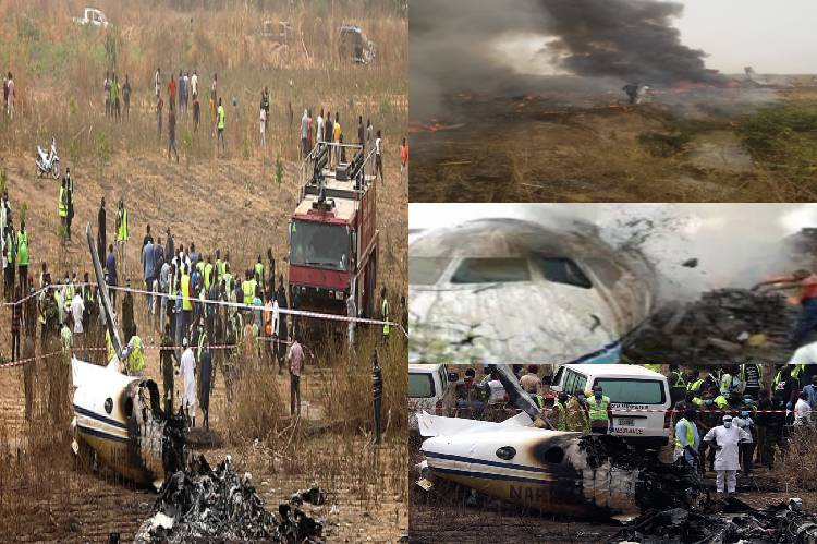 Image result for Military Plane Crash : COAS Orders Investigation , Sanwo-Olu Commiserates With FG, NAF, Victims' Families
